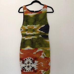 Alice + Olivia size 8 silk dress